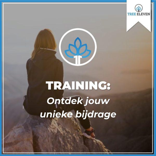 Training Ontdek jouw unieke bijdrage - Tree Eleven