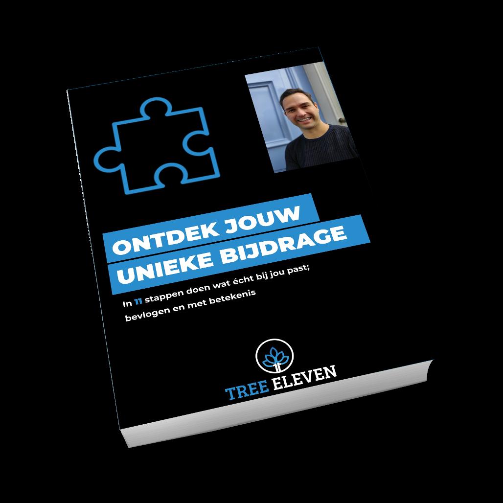 Ebook Ontdek Jouw Unieke Bijdrage - Tree Eleven Training & Coaching