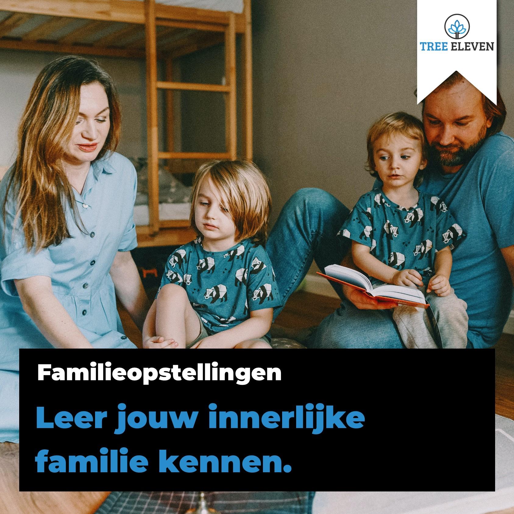Innerlijke Familie Man Vrouw Energie