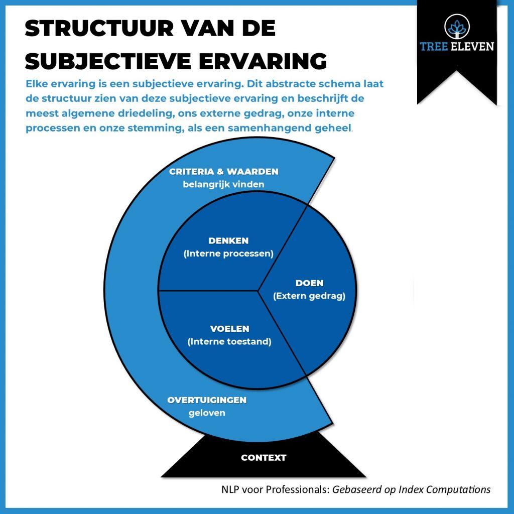 NLP voor professionals Structuur van de subjectieve ervaring Tree Eleven